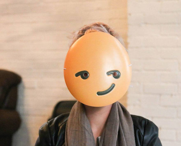 Sly Guy Emoji Mask
