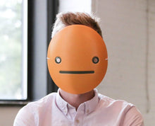 Load image into Gallery viewer, Unamused Emoji Mask