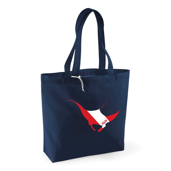 Bag - Navy Sea Creatures Tote Bag
