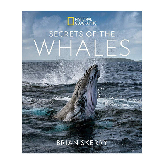 Book - Secrets Of The Whales Book, Signed By Author Brian Skerry