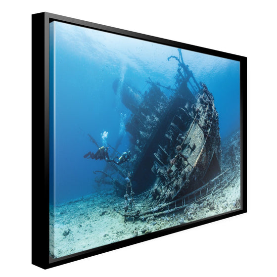 Canvas - PADI Shipwreck Canvas