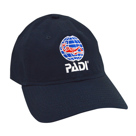 Cap - PADI Adjustable Unstructured Cap - Navy Blue