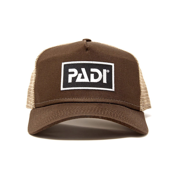 Cap - PADI Trucker Hat Dark Brown