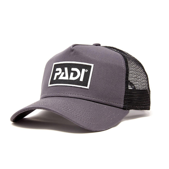 Cap - PADI Trucker Hat Dark Grey