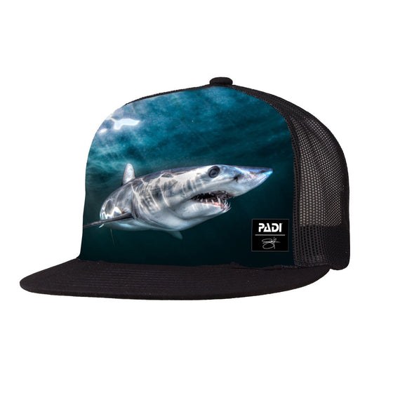 Cap - PADI X Joe Romeiro Signature Collection Mako Shark Trucker Hat