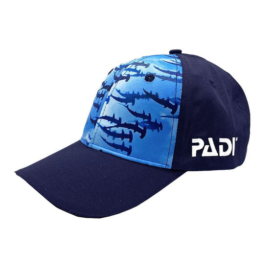 Cap - Recycled Plastic, Hammerhead Shark Hat - Navy