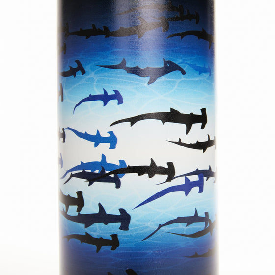 Drinkware - Limited Edition Hammerhead Shark PADI X Klean Kanteen Wide Mouth Bottle