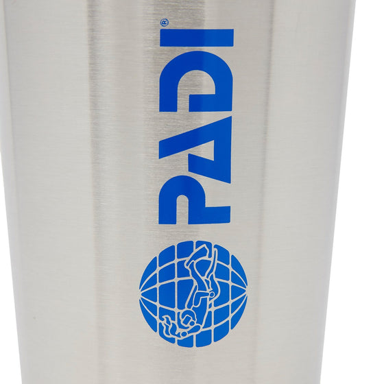 Drinkware - PADI X Klean Kanteen 16 Oz Pint Glass - Brushed Stainless