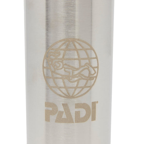 Drinkware - PADI X Klean Kanteen Insulated 20 Oz Bottle - Brushed Stainless