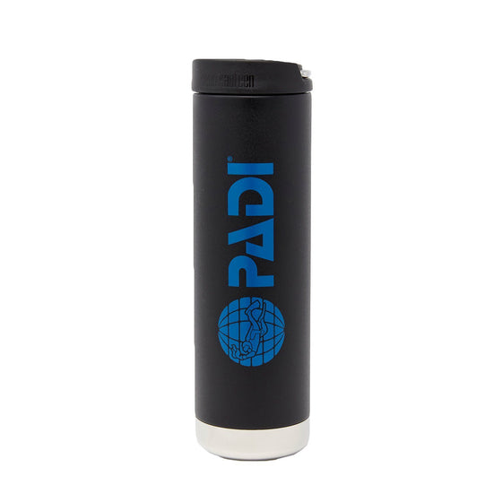 Drinkware - PADI X Klean Kanteen Wide Mouth 20 Oz Insulated Bottle - Matte Black