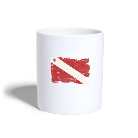 Drinkware - Torn Dive Flag Ceramic Mug