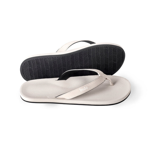 Footwear - Indosole Men's ESSNTLS Flip Flops - Sea Salt