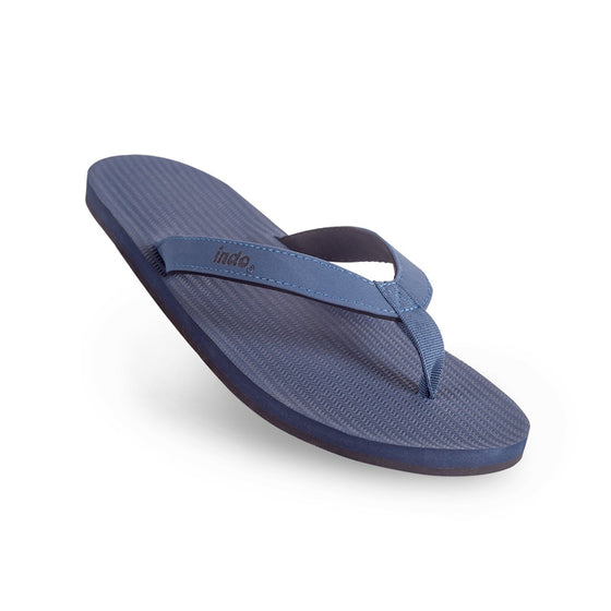 Footwear - Indosole Men's ESSNTLS Flip Flops - Shore