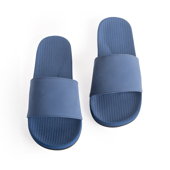 Footwear - Indosole Men's Slides - Shore