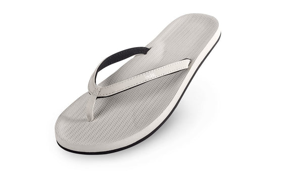 Footwear - Indosole Women's ESSNTLS Flip Flops - Sea Salt