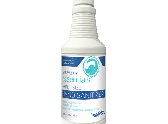 Hand Sanitizer - Stream2Sea Essentials Alcohol Hand Sanitizer Refill 16oz
