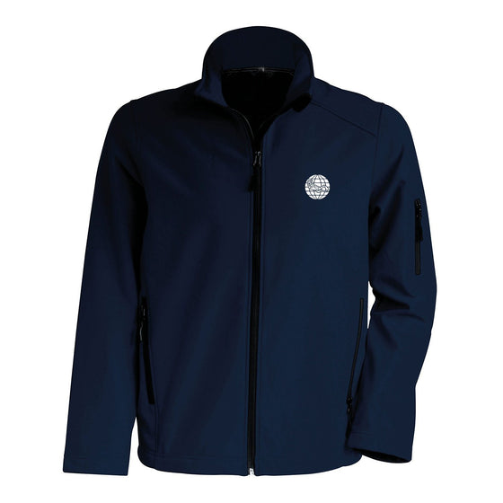 Jacket - Men's Softshell Jacket – Navy