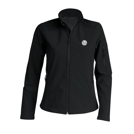 Jacket - Women's Softshell Jacket – Black