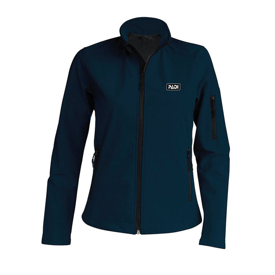 Jacket - Women's Softshell Jacket – Navy