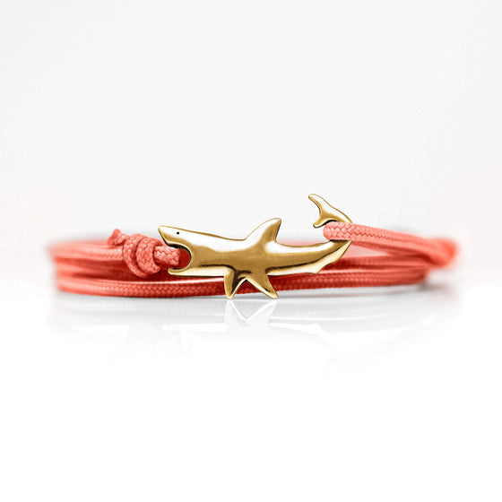 Jewelry - Bracelet - Great White Clasp	Red Bronze Coral Sunrise