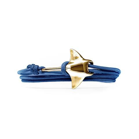Jewelry - Manta Ray  Bracelet - Bronze/Navy
