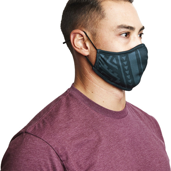 Mask - Islander 3-Layer Face Mask Made From Recycled Plastic W/ Filter Pocket