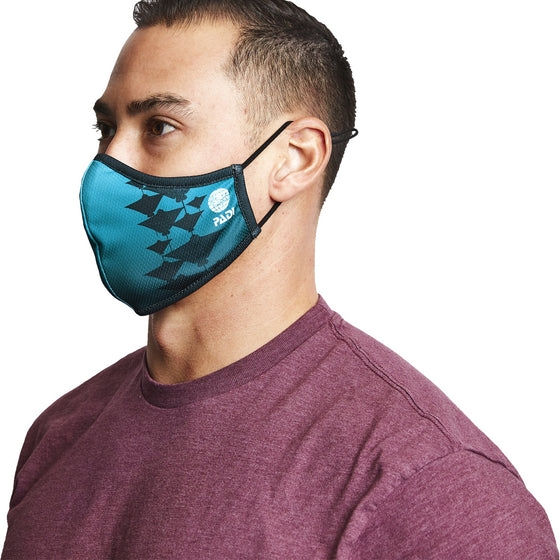 Mask - Manta Ray 3-Layer Face Mask Made From Recycled Plastic W/ Filter Pocket
