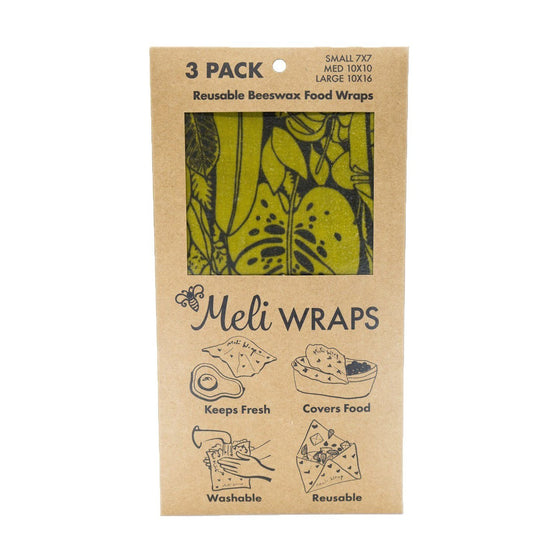 Plastic Free Alternative - Meli Wraps Ola 3 Pack