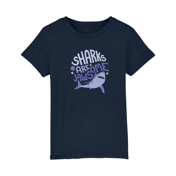 T-Shirt - Kid's Sharks Are Jawsome Tee