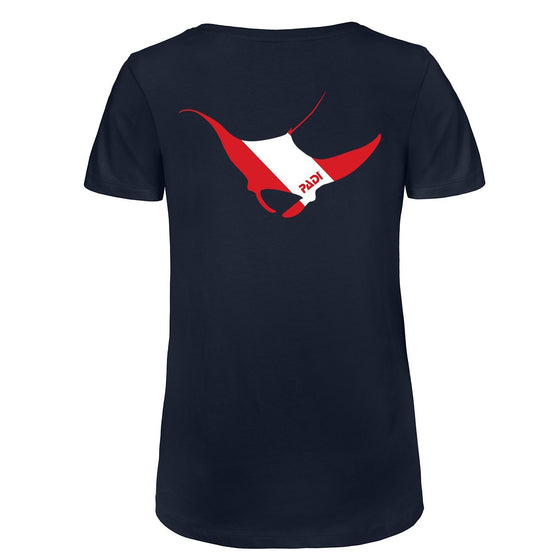 T-Shirt - Men's Dive Flag Manta Ray Tee