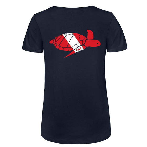 T-Shirt - Men's Dive Flag Sea Turtle Tee