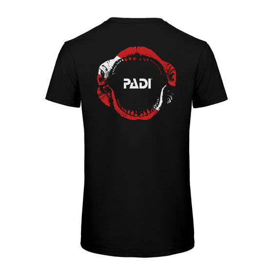 T-Shirt - PADI Megalodon Dive Flag Black T-Shirt