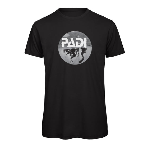 T-Shirt - PADI Scuba Icon Tee - Black