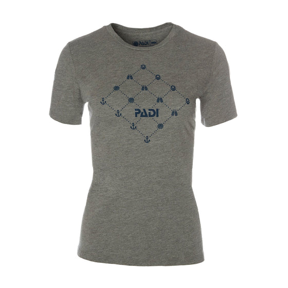 T-Shirt - Scuba Pattern Tee - Grey