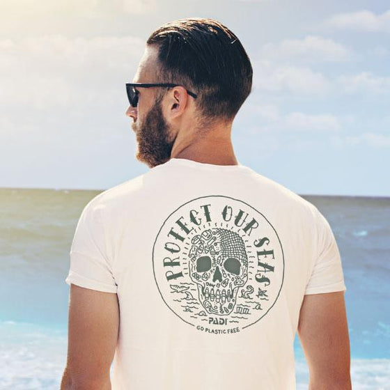 T-Shirt - Unisex Protect Our Seas Charity Tee - Heather Navy
