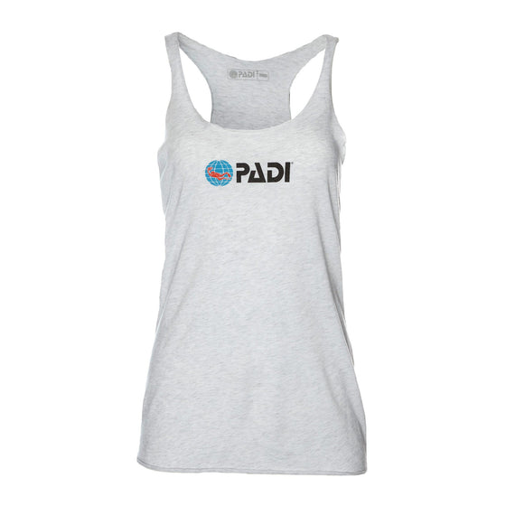Tank - PADI Diving Racerback Tank - Heather Grey