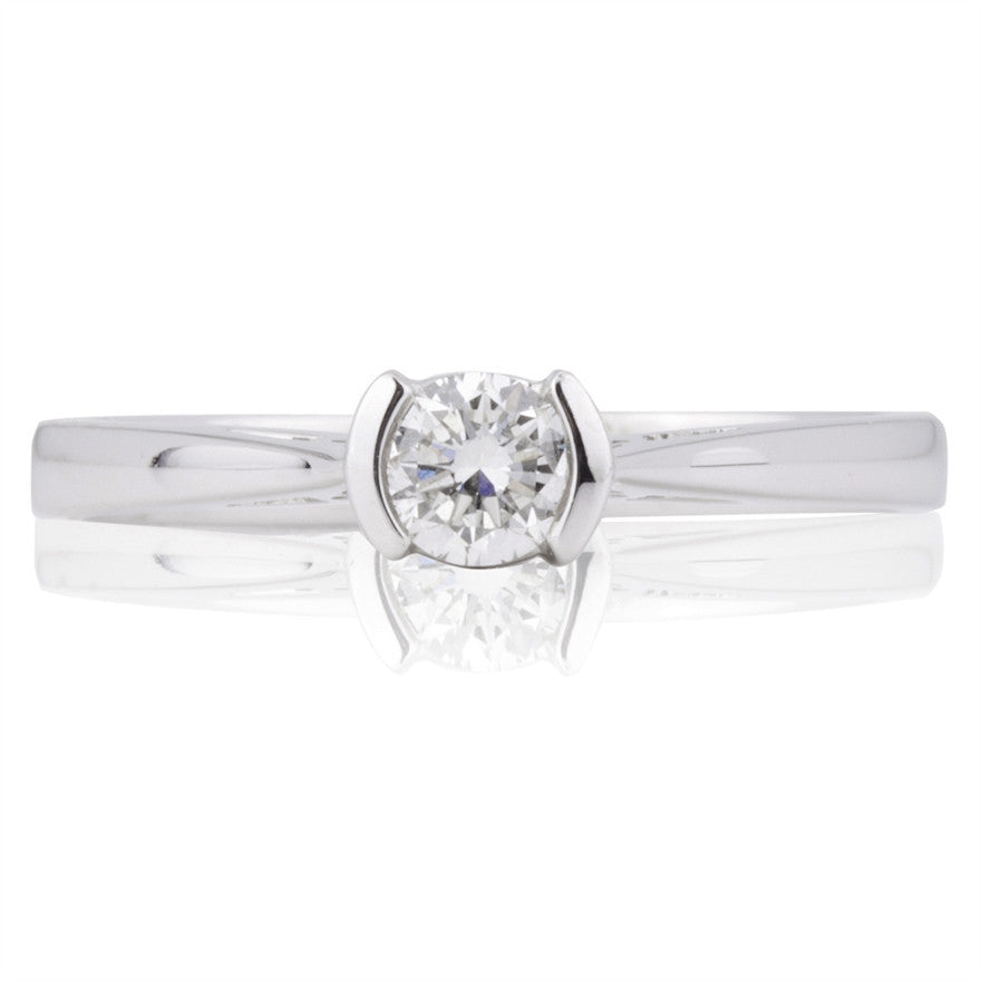 0.25ct Round Brilliant Diamond Solitaire Ring