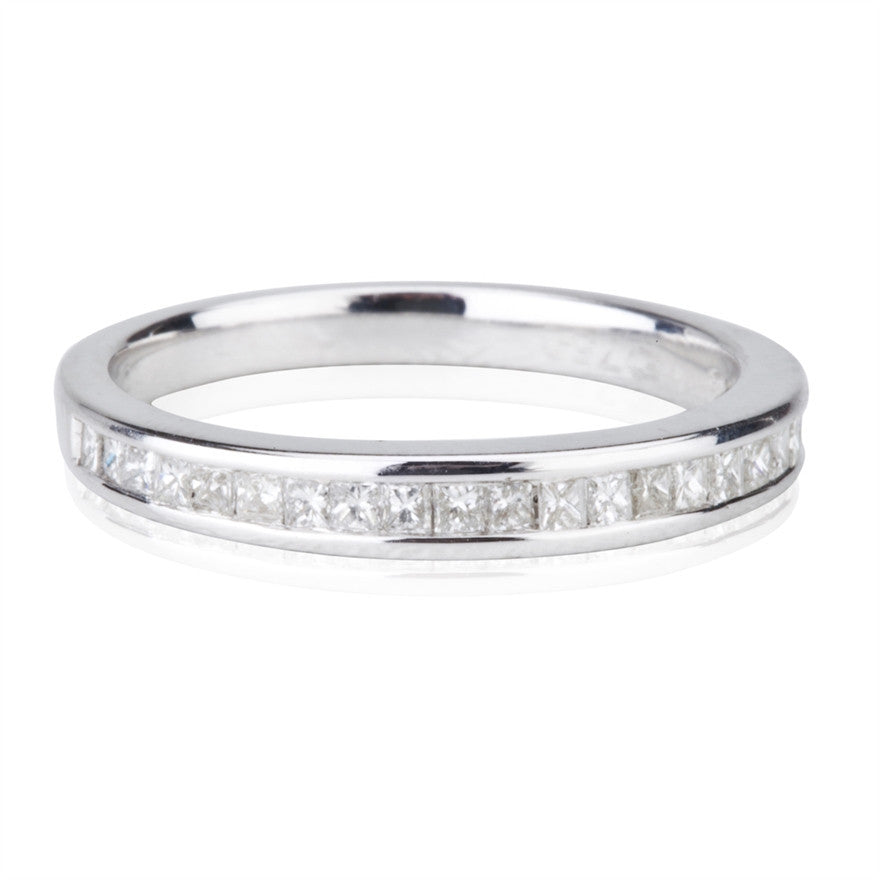 Princess Cut Diamond Band Ring