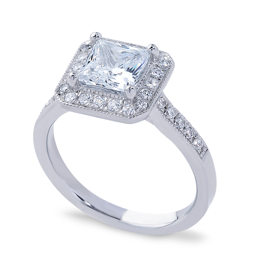 ISLA SETTING - 1.25 CT PLATINUM