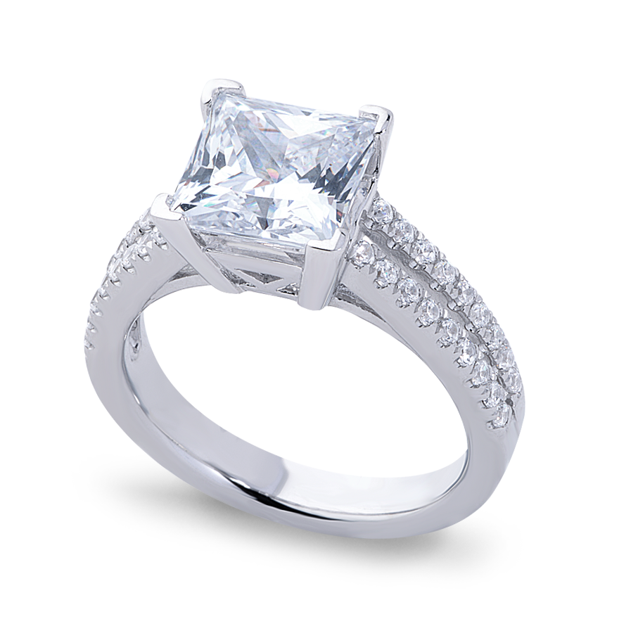 VIOLET SETTING - 3 CT