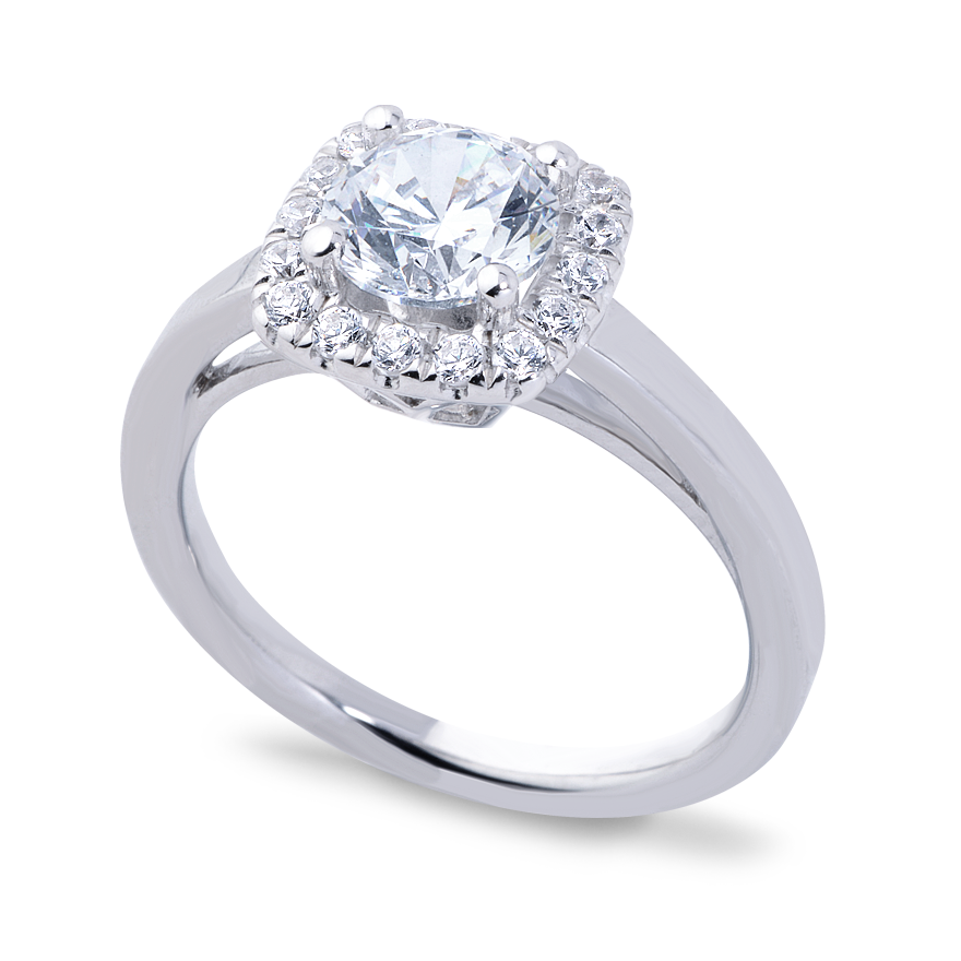 OLIVIA SETTING - 1 CT PLATINUM