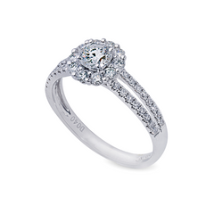 .40ct Diamond Ring with Shoulder Stones