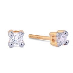 0.10ct Diamond Solitaire Studs