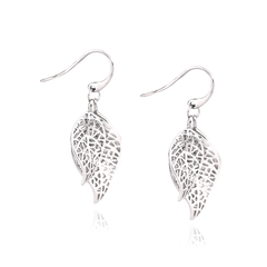 Angela Daniel Double Leaf Earrings