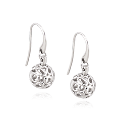 Angela Daniel Pebble Ball Earrings