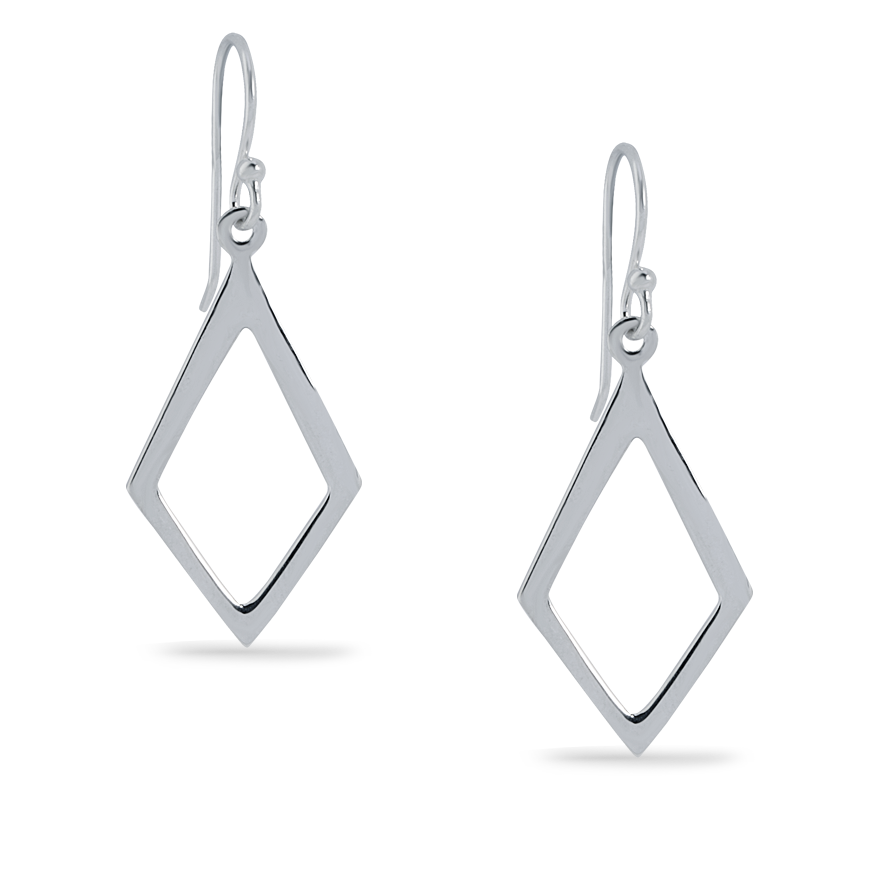 Angela Daniel Open Diamond Earrings