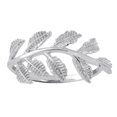 Angela Scatter Leaf Ring