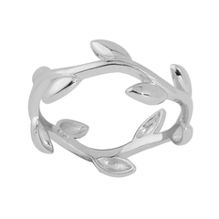 Angela Daniel Vine Leaf Ring
