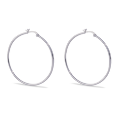 Angela Daniel Hoop Earrings - 45mm