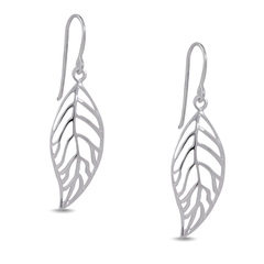 Angela Daniel Leaf Earrings